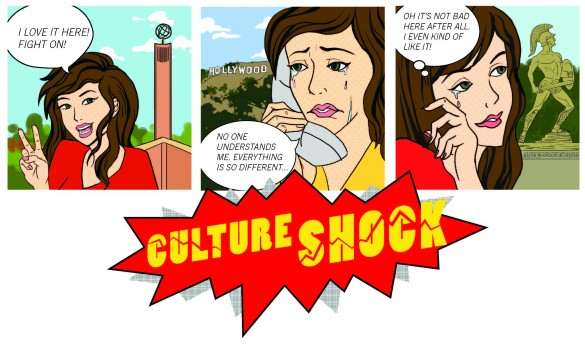 Culture Shock Cartoon
