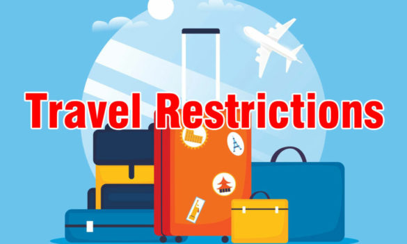 Travel to the US Restricted for Foreign Nationals Physically Present in the Following Countries